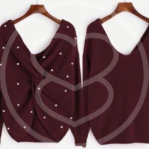 Sweaters - ANGELINA Reversible Knit Sweater